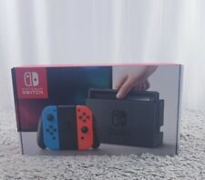 New Nintendo Switch- 32GB Gray Console (Neon Red/Neon Blue Joy-Con)