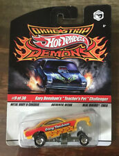 Hot Wheels Dragstrip Demons - Gary Densham's Teacher's Pet Challenger -1:64 NOC
