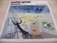 """RARE PREFAB SPROUT NIGHTINGALES PLUS THE DEMO TAPES  12"""" VINYL RECORD"""