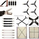 Adjustable Crisscross Bed Fitted Sheet Straps Suspenders Gripper Holder Fastener
