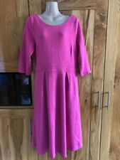 Boden Pink Fully lined Cord Dress Size 16