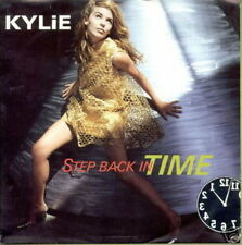 KYLIE MINOGUE 45 TOURS BELGIQUE STEP BACK IN TIME