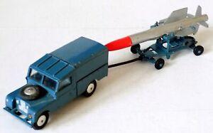 Corgi No.350 Thunderbird Missile on Trolley/351 RAF Land Rover (Gift Set GS3).