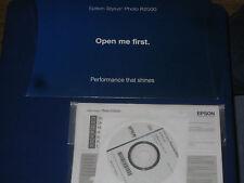 Epson Stylus Photo R2000 Setup Installation CD ROM Software Driver Disk Win/Mac