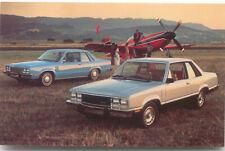 Mercury Zephyr 2 Door with European Sports option 1978 original Postcard