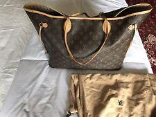 Neverfull GM Louis Vuitton Tote 🌻 Monogram Large Shoulder Handbag Purse 100% LV