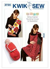 Kwik Sew SEWING PATTERN 3734 Baby Swaddler/Sling/Nursing Cover