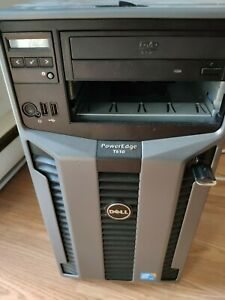Dell T610 PowerEdge - 2 Intel Xeon 2.53 GHz - 6-core processors, 16GB DDR3