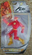 NEW MARVEL TOTAL HEROES FLASH ACTION FIGURE SUPER HERO MATTEL 2013 DC COMIC a109