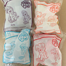 2019 My Little Pony McDonalds Happy Meal Toys Complete of 4