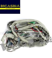 8254 - IMPIANTO ELETTRICO CON GUAINA GRIGIA LAMBRETTA 125 150 200 LI SX TV GP