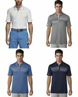 Adidas Essentials Chest Print Polo Mens Golf Shirt Multiple Color/Sizes