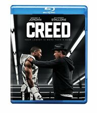 CREED (2016 Sylvester Stallone)  -   Blu Ray - Sealed Region free