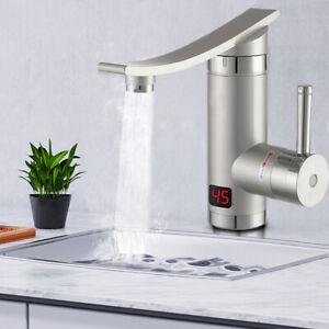 Elektrisch Wasserhahn 3000W 220V Durchlauferhitzer Sofort Heizung Küchearmatur