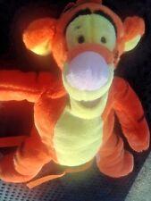 "Disney Winnie the Pooh Tigger Tiger Backpack Stuffed Animal Plush 14"" Resort bag"