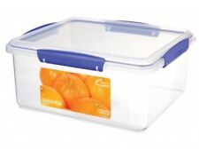 Sistema 5 L  Rectangular Plastic Cake Bakery Food Storage Box BPA Lead Free