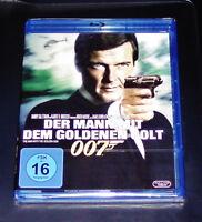 JAMES BOND 007  DER MANN MIT DEM GOLDENEN COLT MIT ROGER MOORE BLU RAY NEU & OVP