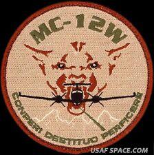 USAF 489th RECONNAISSANCE SQUADRON- MC-12W LIBERTY DESERT- ORIGINAL PATCH