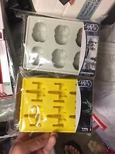 Kotobukiya Official Star Wars Silicone Ice Cube Tray Molds Stormtrooper / X wing