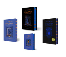 NEW Harry Potter Ravenclaw Editions 4 Hardcover Books Set - Philosopher, Chamber
