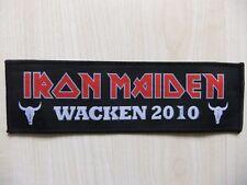 Aufnäher - Patch - Iron Maiden - Wacken 2010 - Metallica - Motörhead - Saxon