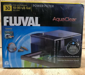 FLUVAL 30 AquaClear 10-30 Gal Power Filter (A600) BRAND NEW