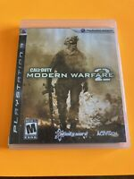 🔥 PS3 PLAYSTATION 3 💯 COMPLETE WORKING GAME CALL OF DUTY COD MODERN WARFARE 2