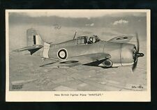 Aircraft Air Force Military Fleet Air Arm Fighter Plane c1940/50s? MARTLET PPC