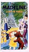 MADELINE LOST IN PARIS Vhs Video Tape 1999 Animated Movie WALT DISNEY Clamshell