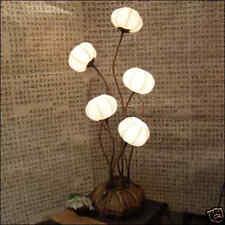 Papierlampe Tischlampe Nachttischlampe Leuchte Neu&OVP