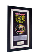 IRON MAIDEN Piece Of Mind CLASSIC CD Album QUALITY FRAMED+EXPRESS GLOBAL SHIP