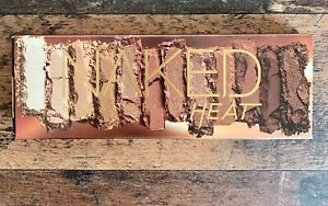 Urban Decay Naked Heat Eyeshadow Palette 12 Shades With Brush New In Box