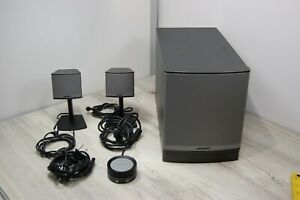 Bose Companion 3 II Multimedia Speaker System Complete in Box Tested Working