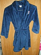 CHEROKEE FLEECE ROBE SIZE S BLUE 2 POCKETS YOUTH FLAME RESISTANT