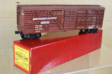 ALL-NATION LINE 7300 O SCALE SOUTHERN PACIFIC SP STOCK CAR WAGON MINT BOXED nk