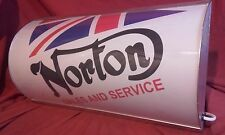 Norton, Scooter, Lightup, signe, lumineux, affichage, MANCAVE, Garage, Moto, hangar