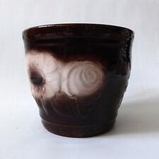 Vintage Scheurich Keramik planter, plant pot holder. West German pottery, 887-12
