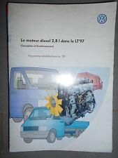 VW moteur diesel 2.8 dans LT 97 : programme autodidactique 197