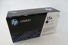 HP 15A Black Toner Cartridge 2.5K Page Yield 1005 3300 3380 1200 C7115A OEM BOX