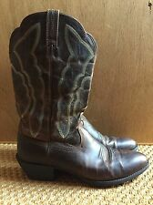 Ariat Western Boots Womens Heritage Western R-Toe Size 10 B Sassy Brown