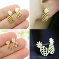 Ohrschmuck Lovely Für Mädchen Geschenke Ananas-Form Mode Ohrringe Ohrstecker