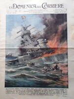 La Domenica del Corriere 31 Dicembre 1939 WW2 Graf Spee Natale Posta Montevideo