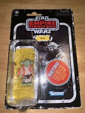 Star Wars Yoda Retro Collection Action Figure Empire Strikes Back New On Card