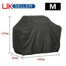 BBQ Cover Heavy Duty Waterproof Rain Barbeque Grill Gas Garden Protector M Black