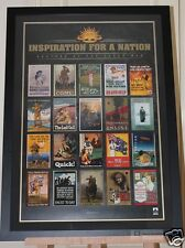 ANZAC Memorabilia Inspiration for a Nation Framed