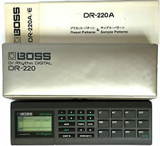 Boss DR-220A MIJ Vintage Rhythm Digital Drum Machine RARE Pocket Machine