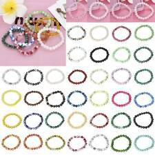 8mm 67 Colors Fashion Women Natural Stone Jade Round Beads Stretch Bracelet Gift