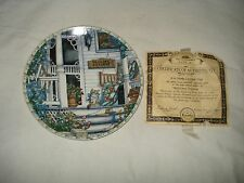 Collectible Plate Welcome friendsKNOWLES brand with certificate of authenticity