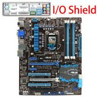 ASUS P8Z77-V LE PLUS  Intel Motherboard LGA 1155 DDR3 I/O Shield Tested XC