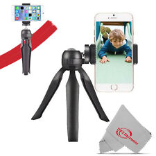 """Vivitar 7.5"""" Compact Tabletop Tripod Hand Grip with Ball Head for Selfies"""